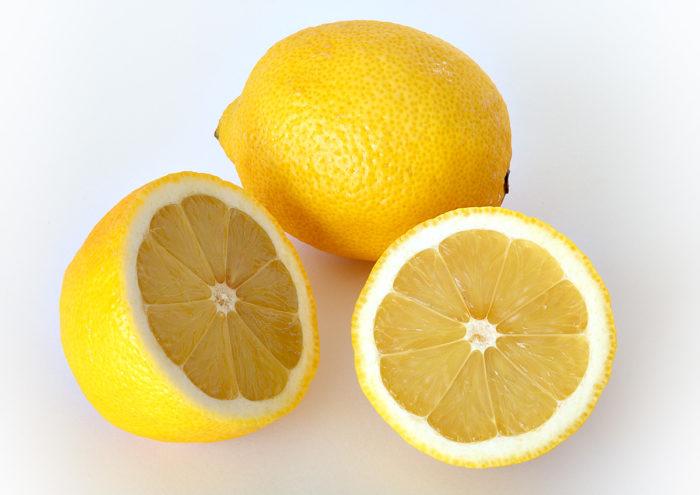 Lemon glass tile