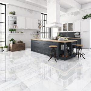 CALACATTA BELLA POLISHED MARBLE TILES (TL91078)