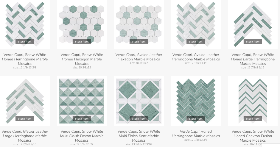 Kitchen Design: Backsplash Geometry - Country Floors of