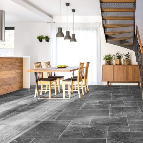 IRIS BLACK COTTAGE MARBLE PATTERNS (TL18225)