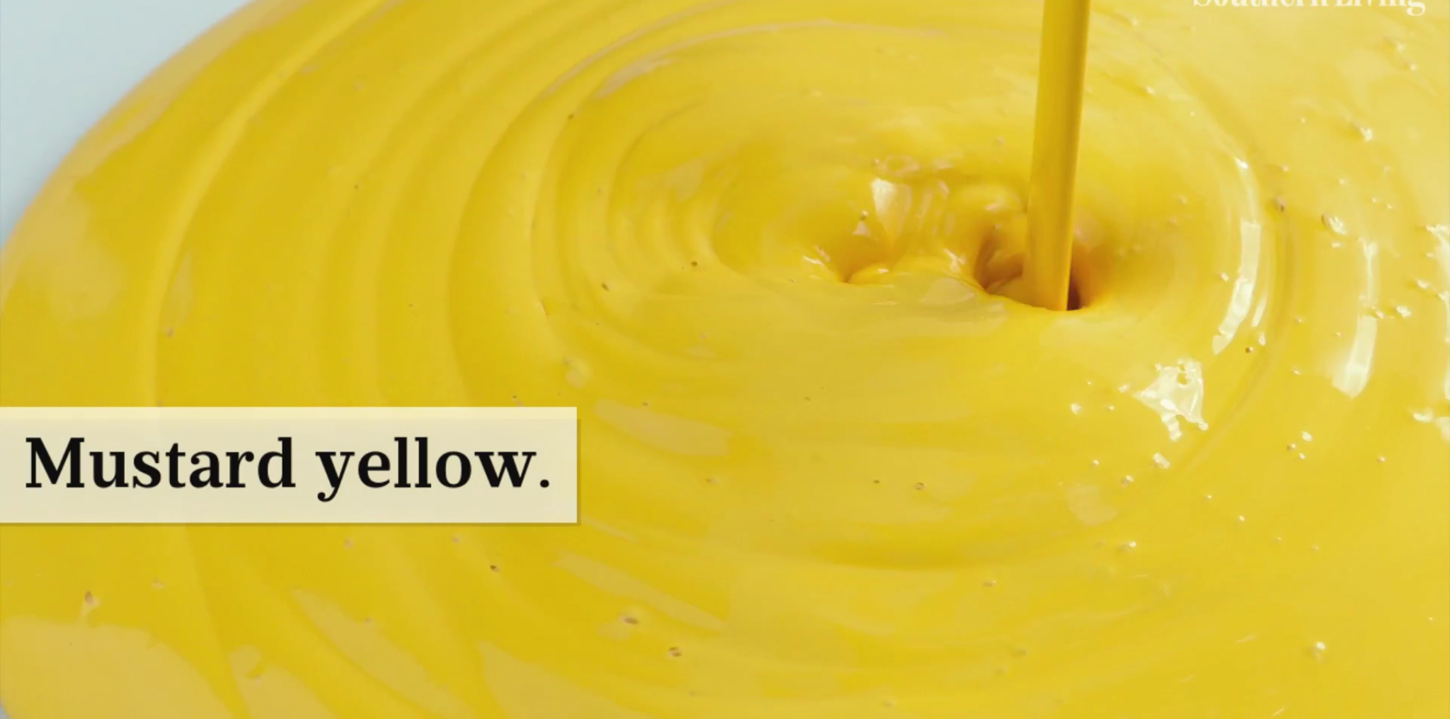 Mustard Yellow Color Trend - Country Floors of America LLC