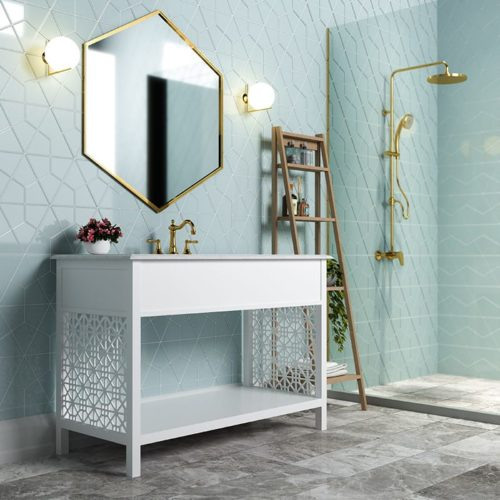 JULES GLOSSY DIAMANTE CERAMIC TILES (DC00254)