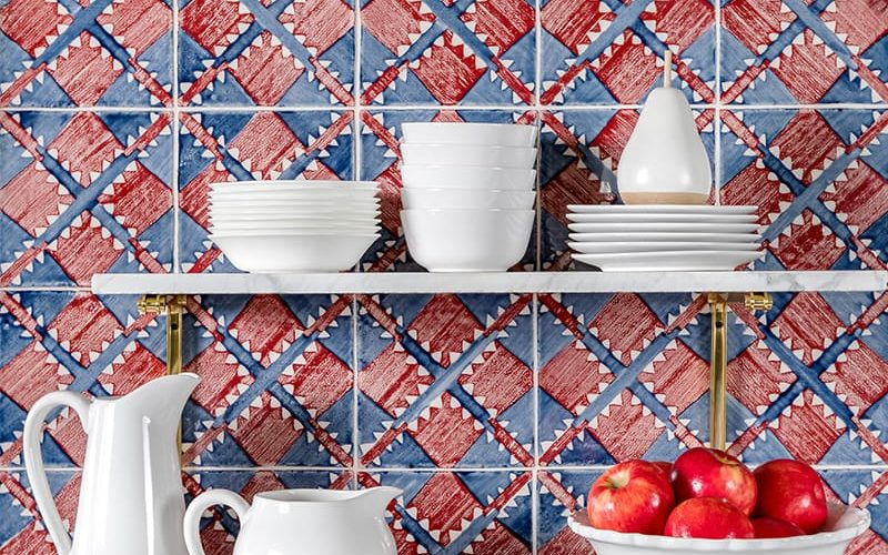 Bold Ceramic Tile Colors