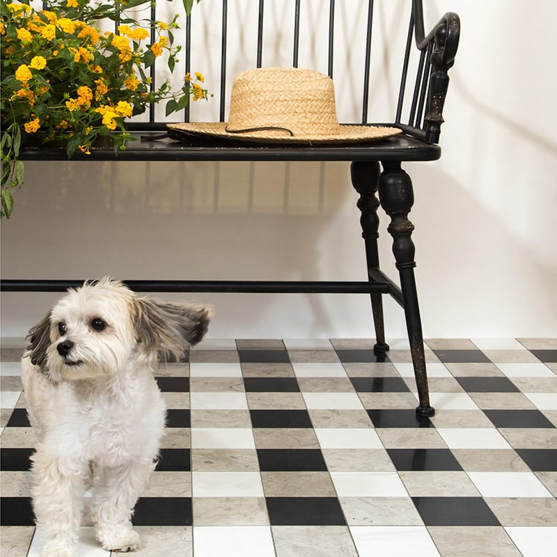 Chester Plaid by Marble Systems at Country Floors