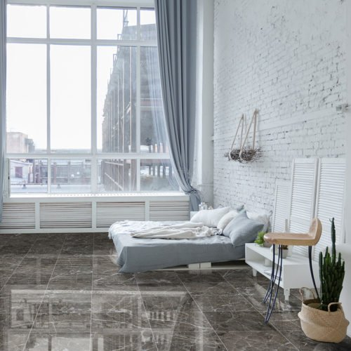 ARCTIC GRAY POLISHED MARBLE TILES (TL15570)