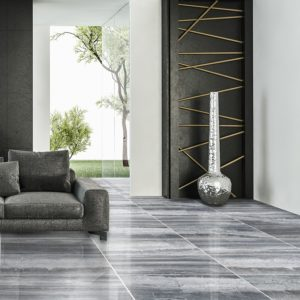 HAISA BLACK POLISHED MARBLE TILES (TL18409)