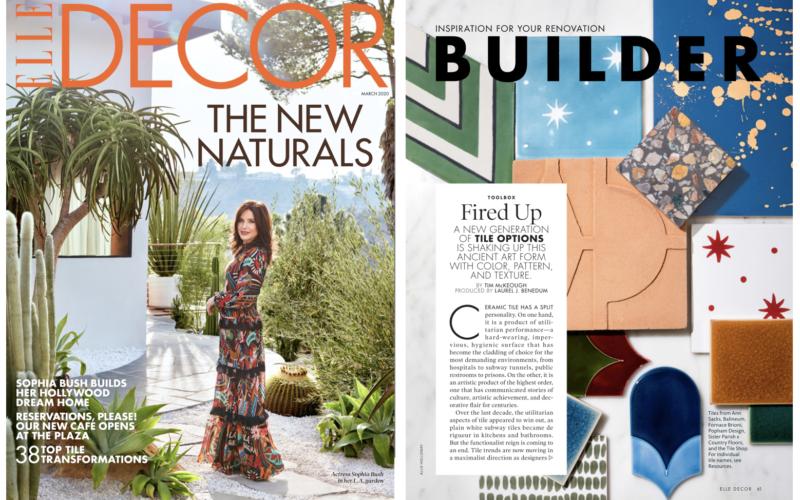 ELLE Decor 2020 Tile Trends Country Floor